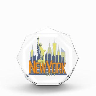 NYC Skyline Bold Awards