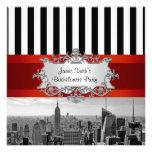 NYC Skyline BW B2 Bachelorette Party Invitation