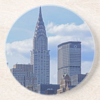 NYC Skyline Chrysler Building B1 Drink Coaster