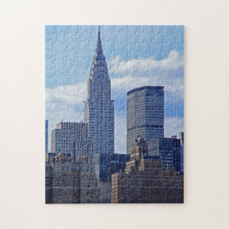 NYC Skyline Chrysler Building B1 Jigsaw Puzzle
