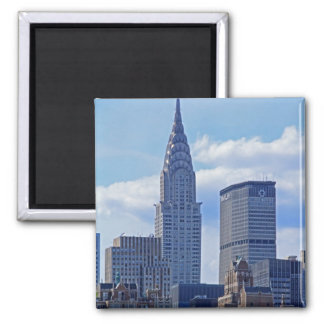 NYC Skyline Chrysler Building B1 Magnet