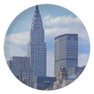 NYC Skyline Chrysler Building B1 Plate