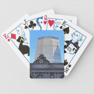 NYC Skyline: Chrysler Building Casts Long Shadow Card Deck