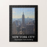 NYC Skyline Empire State Building, World Trade 1C Jigsaw Puzzles
