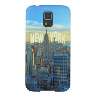 NYC Skyline Empire State Building, World Trade 2C Galaxy S5 Cover