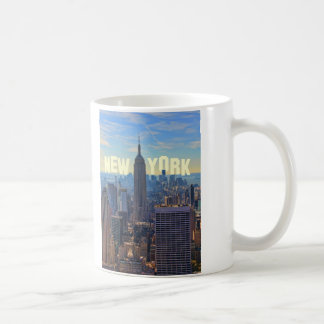 NYC Skyline Empire State Building, World Trade 2C Coffee Mug