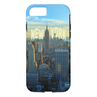 NYC Skyline Empire State Building, World Trade 2C iPhone 8/7 Case