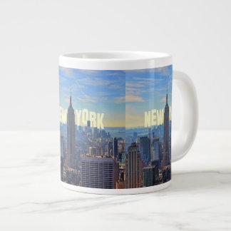 NYC Skyline Empire State Building, World Trade 2C Large Coffee Mug