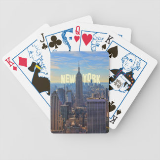 NYC Skyline Empire State Building, World Trade 2C Playing Cards