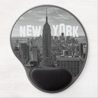 NYC Skyline Empire State Building World Trade 2CBW Gel Mousepad