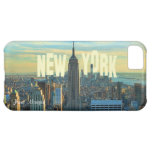 NYC Skyline Empire State Building, World Trade 2CH iPhone 5C Cover