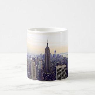NYC skyline Empire State Building, WTC 4 Coffee Mug