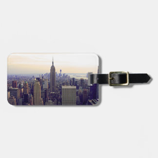 NYC skyline Empire State Building, WTC 4 Tag For Luggage
