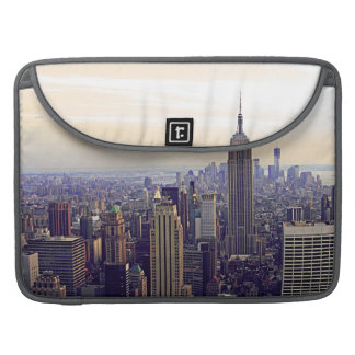 NYC skyline Empire State Building, WTC 4V MacBook Pro Sleeve