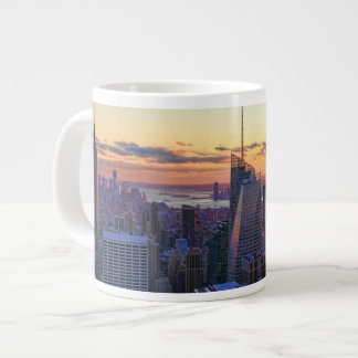 NYC Skyline: ESB, Bank of America, 4 Times Sq 001 Large Coffee Mug