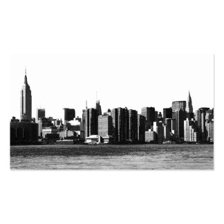 NYC Skyline ESB, East River View 001 Business Card Template