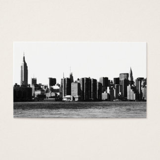 NYC Skyline ESB, East River View 001 Business Card