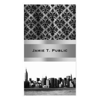 NYC Skyline ESB, East River View 001 Business Card Templates