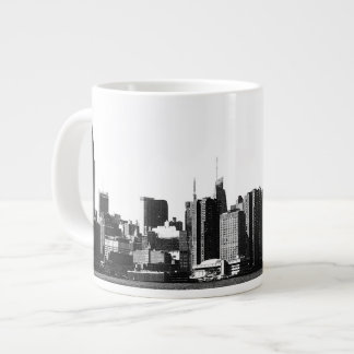 NYC Skyline ESB, East River View 001 Giant Coffee Mug