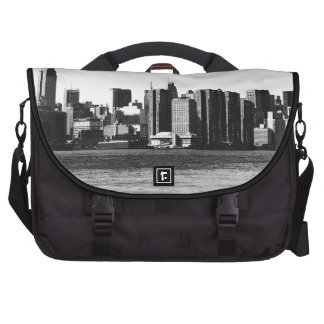 NYC Skyline ESB, East River View 001 Laptop Commuter Bag