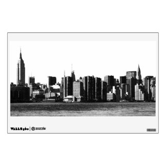 NYC Skyline ESB, East River View 001 Wall Sticker