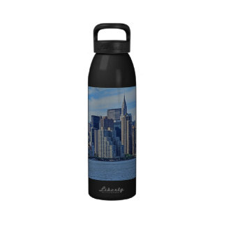 NYC Skyline From East River A1 Water Bottle
