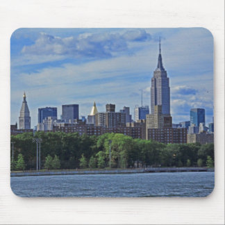 NYC Skyline from the East River 002 Mouse Pad