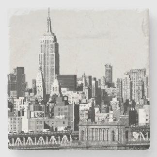 NYC Skyline II Stone Beverage Coaster