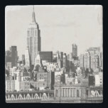 "NYC Skyline II Stone Coaster<br><div class=""desc"">Travel</div>"