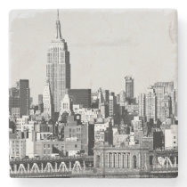 NYC Skyline II Stone Coaster