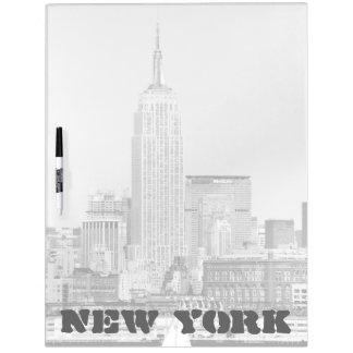 NYC Skyline IV Dry-Erase Board