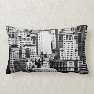 NYC Skyline IX Lumbar Pillow