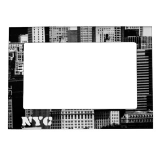 NYC Skyline IX Magnetic Photo Frame