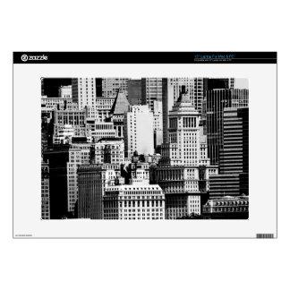"""NYC Skyline IX Skin For 15"""" Laptop"""