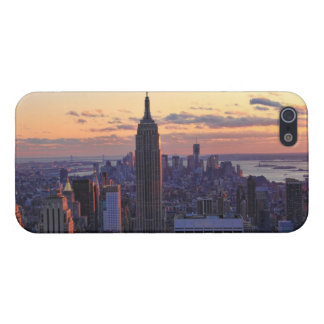 NYC Skyline just before sunset Cover For iPhone 5