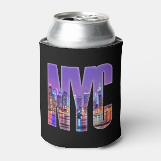 NYC Skyline (Light) Can Cooler