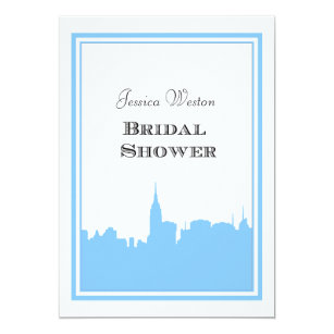 nyc skyline lt blu silhouette 2 diy bridal shower card