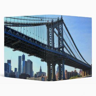NYC Skyline: Manhattan Bridge #3 Binder