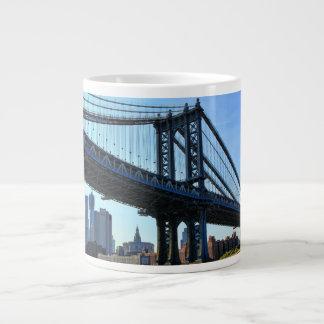 NYC Skyline: Manhattan Bridge #3 Jumbo Mug