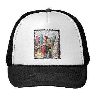 NYC Skyline Mesh Hat