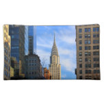 NYC Skyline: Midtown View of the Chrysler Building Cosmetic Bags