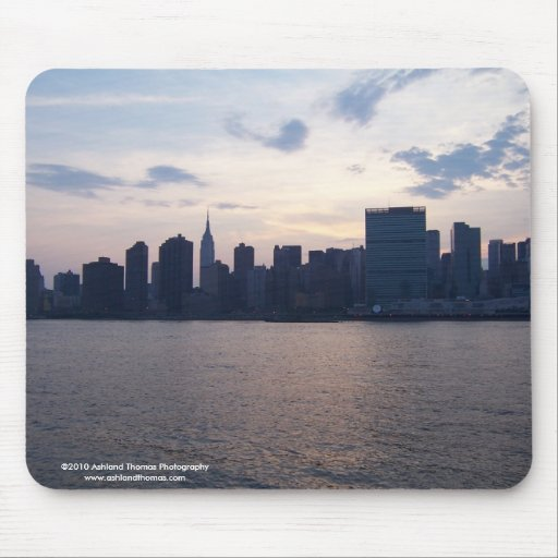 NYC Skyline on the East River Mousepad