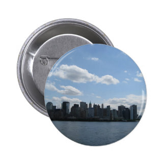 NYC skyline Pinback Buttons