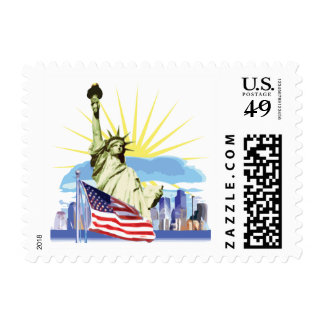 NYC Skyline Stamps