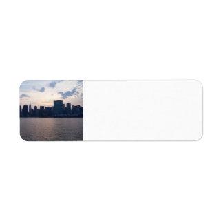 NYC Skyline - Return Address Labels