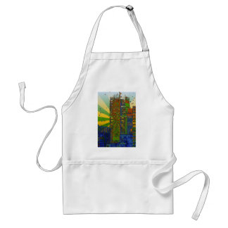 NYC Skyline: The New York Times Building Adult Apron