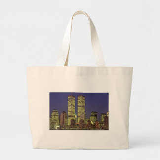 NYC Skyline With World Trade Center At Night Bag