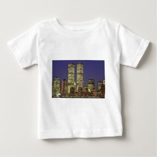 NYC Skyline With World Trade Center At Night T-shirt