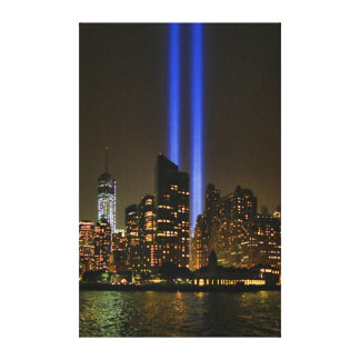 NYC Skyline: WTC  9/11 Tribute In Light 2013 #1 Canvas Prints
