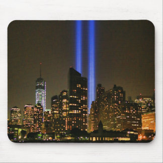 NYC Skyline: WTC  9/11 Tribute In Light 2013 #1 Mouse Pad